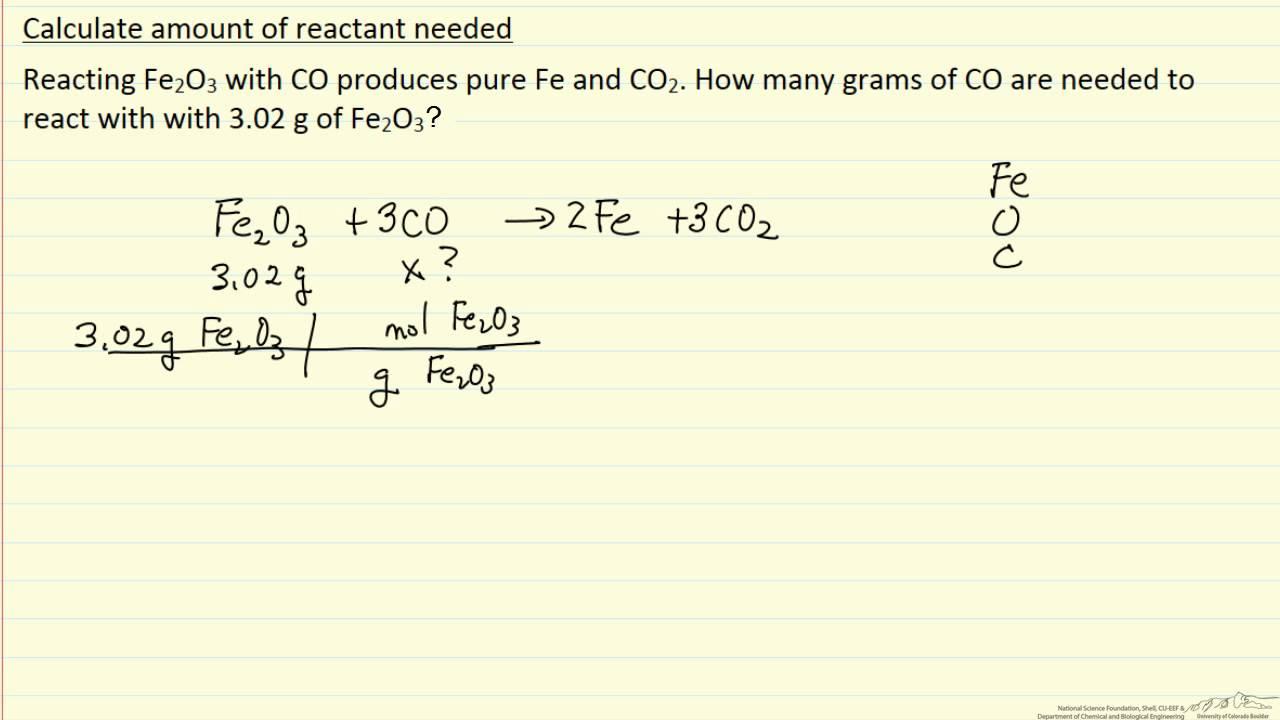Limiting Reactant Worksheet 015 - Limiting Reactant Worksheet