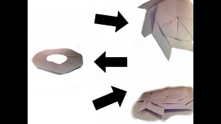 How to make a transforming ninja star
