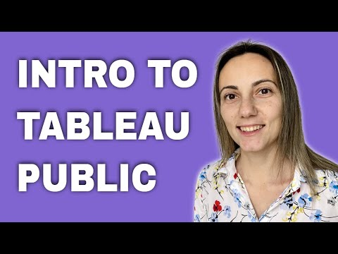 Introduction to Tableau Public