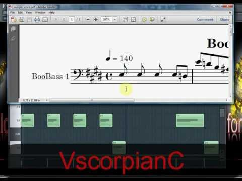 FL Studio Tutorial - Export MIDI Score Sheets by VscorpianC