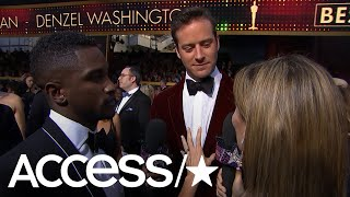 Oscars 2018: Armie Hammer Explains His 'Fascia Scraping' Insta Video; Talks Timothée Chalamet