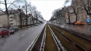 Schnellster Streckenabschnitt der 20/21er befahren mit Solo P-Wagen