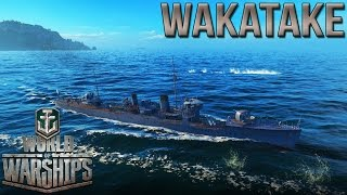 Wakatake [DD] - Learning the Destroyer Class - World of Warships