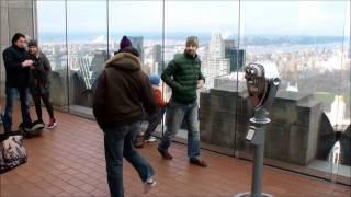 Shuffle Dance on Top of the Rockefeller Center, New York