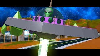 ALIEN INVASION! (A Roblox Jailbreak Movie)