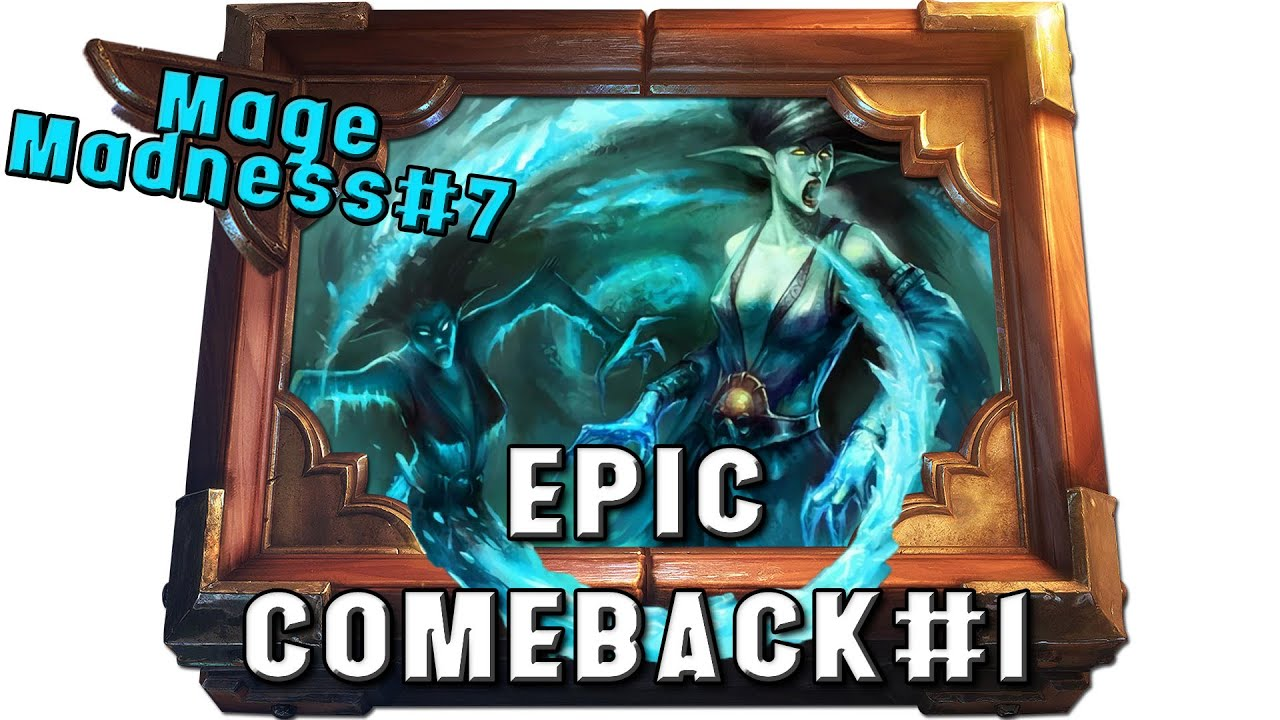 Hearthstone Summoning Stone Mage Epic Comeback 1 Constructed Gameplay