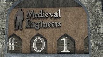 Medieval Engineers #01 - Schaffe, schaffe, Burgen baue! (Deutsch/1080p/60fps)