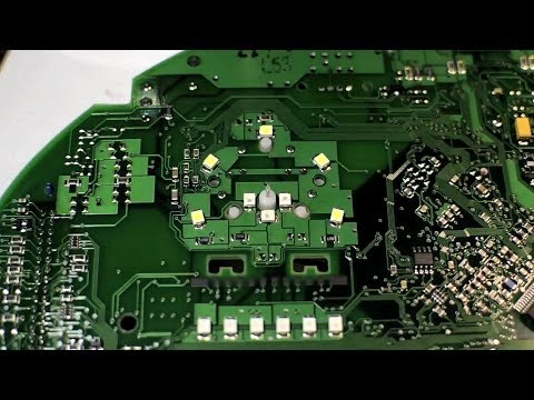 Audi A4 How To Convert Gauge Cluster LEDs #1