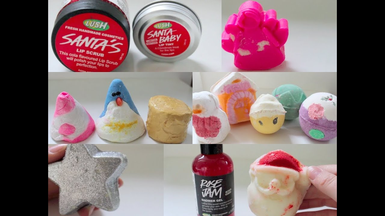 lush christmas products 2013 youtube