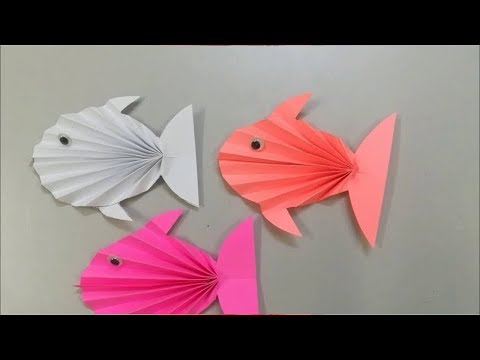 How To Make Paper Fish Easy | Origami Fish | Diy Paper Fish Tutorial
