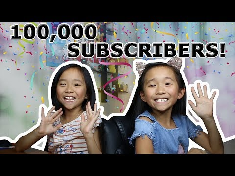 100,000 SUBSCRIBER SPECIAL! / THANK YOU! ❤️ / Q & A / Janet and Kate