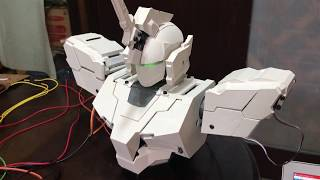 【Part1】ユニコーンガンダム自動変形 Auto Transforming Unicorn Gundam