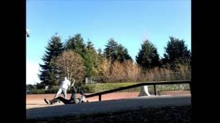 Viral Video UK: Unicycle rail fail!