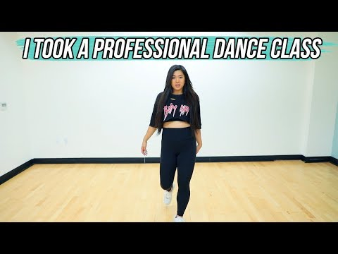i took a professional dance class again