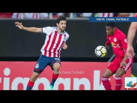 1-0. Las Chivas de Guadalajara vencen al Red Bulls con un gol de ...