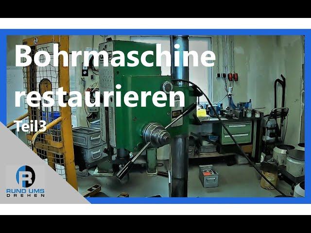 Bohrmaschine restaurieren - Montage und Funktionsweise