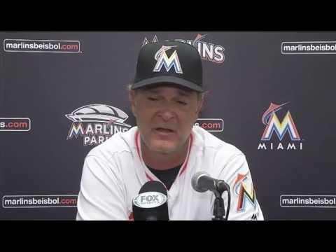 Don Mattingly - Miami Marlins vs. San Diego Padres postgame 8/26/16
