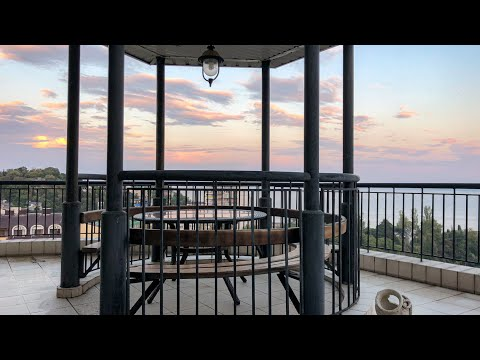 Большая квартира в Партените с огромной террасой и видом на море