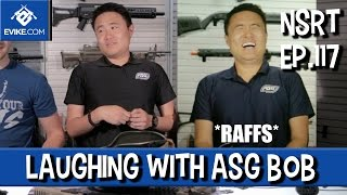"""Airsoft """"Not So Round Table"""" - Ep.117 - Laughing with ASG Bob - Airsoft Evike.com"""