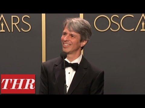 Oscar Winner Marshall Curry Full Press Room Speech | THR