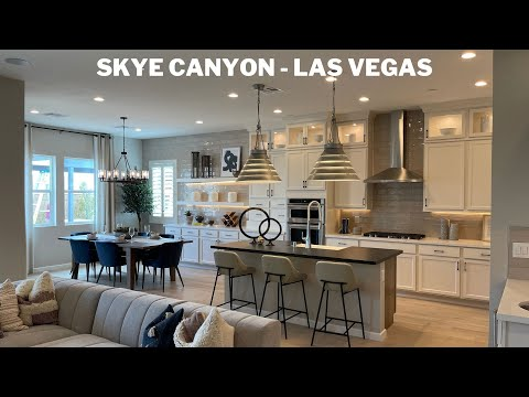 New Homes For Sale Las Vegas | Skye Canyon | Montrose by Toll Brothers | Braga Tour | 556k+ 2,031sf+
