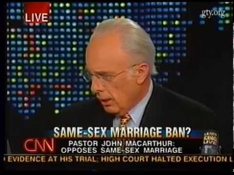 Same-Sex Marriage Ban? (Larry King Live with John MacArthur)