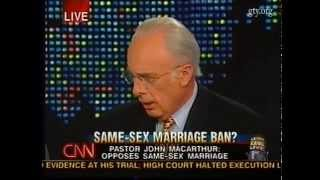 Same-Sex Marriage Ban? (Larry King Live with John MacArthur) thumbnail