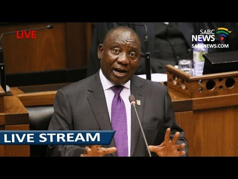 President Ramaphosa delivers the Presidency's budget vote
