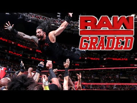WWE Raw: GRADED (9 July) | Extreme Rules 2018 Go-Home Show