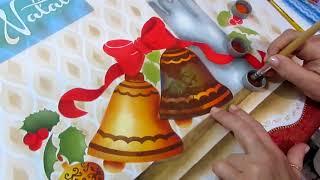 Como Pintar Arranjo de Natal – Paty Buoso