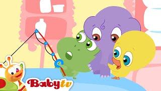 Banyo Bidiklari - Küvette Balık Tutma, BabyTV Türkçe
