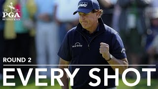 Phil Mickelson: Every shot in 2nd-round 71 at 2019 PGA Championship