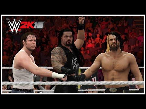 WWE 2K16 - THE SHIELD REUNITED! Entrance,...