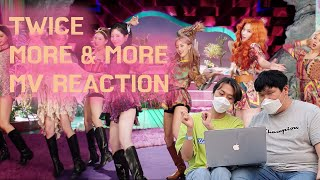 [MV REACTION] 트와이스(TWICE) - MORE & MORE 뮤비리액션 (With ONCE & A…