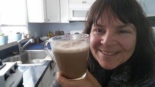 Vegan Caramel Yerba Mate Latte, Gluten Free, Dairy Free