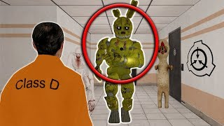 SPRINGTRAP IN THE SCP FACILITY with SpyCakes! - Garry's Mod Gameplay - Gmod SCP Survival