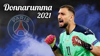 افضل تصديات دوناروما حارس باريس سان جيرمان الجديد 2021