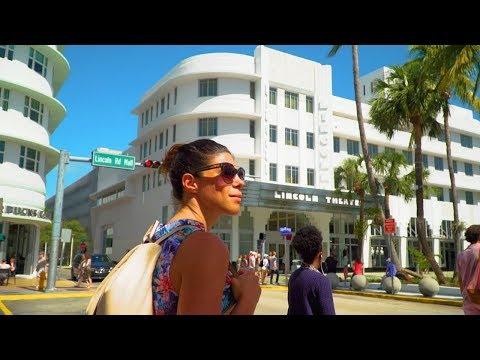 Florida Travel: Visit Lincoln Road In Miami Beach