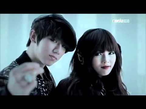 [Music Bank 111125] TroubleMaker(4Minute HyunAh+BEAST HyunSeung) - Notice