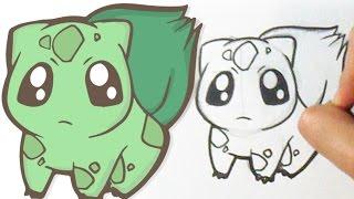 how to draw pokemon bulbasaur