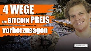 4 Wege den Bitcoin Preis vorherzusagen