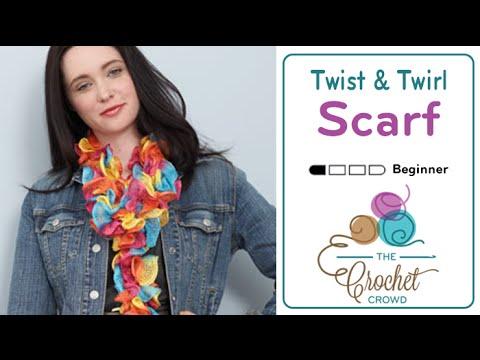 Knit Twist Twirl Scarf Youtube