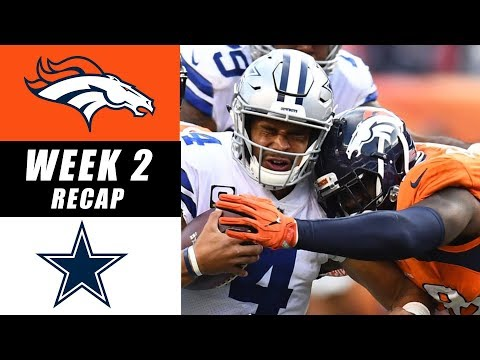 Broncos vs Cowboys Recap: Week 2 2017