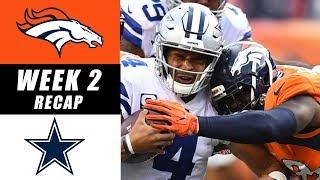 Broncos vs Cowboys Recap: Week 2 2017
