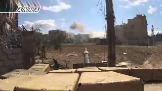 Сирия-Танки в боях от первого лица