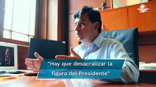Con el gobierno del presidente López Obrador vivimos una situación de pleno goce de libertades, en el cual hay mucha crítica y eso es sano