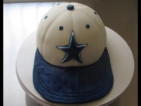 Dallas Cowboy Fitted Cap Cake