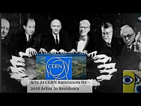 "CERN! Occult ""Time Traveler"" is 2018 Artist In Residence?! Bizarre Choice or Black Magic?"