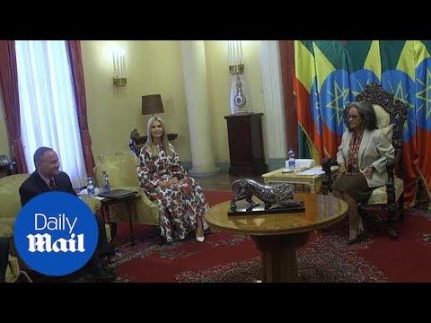 Ivanka Trump Meets With Ethiopian President Sahle-Work Zewde