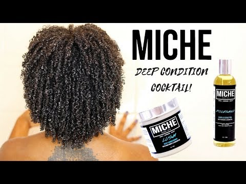 2 PRODUCT DEEP CONDITION COCKTAIL - Miche Beauty! - 동영상